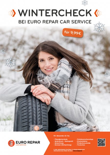 Wintercheck bei Eurorepar Car Service